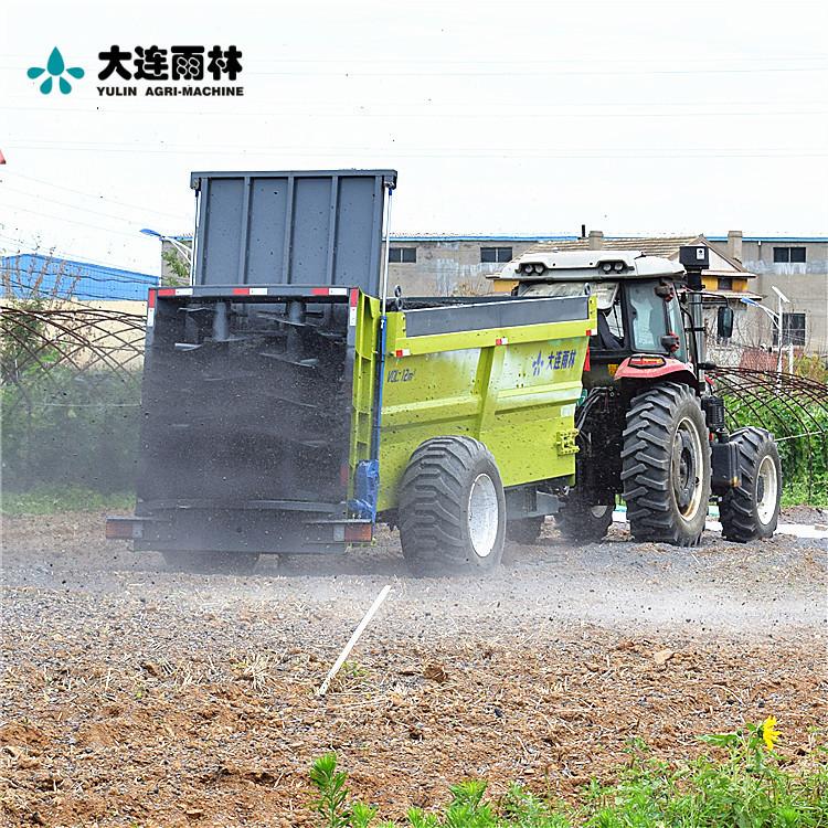 雨林直销肥料抛撒机 湿鸡粪撒粪车 撒肥机