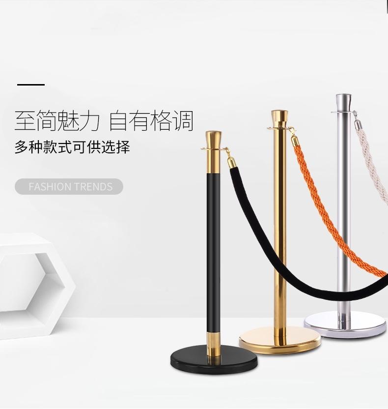 广州迎宾柱护栏生产厂家 深圳伸缩带隔离栏款式定做