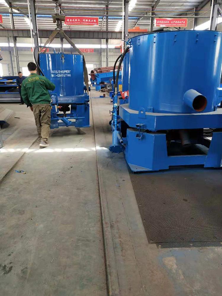 水套离心机尼尔森离心机选沙金精选机选矿尾矿离心机连续式离心机