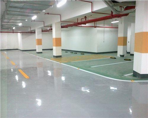 江门停车场地坪设计施工一平方多少钱