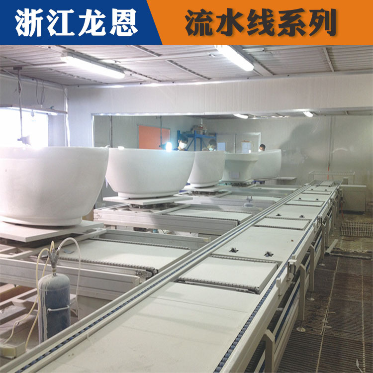 车间流水线的优势、台州流水线、龙恩自动化设备