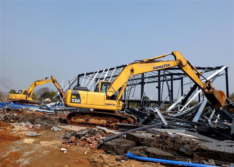 南通化工设备拆除回收资质齐全工厂拆除管道