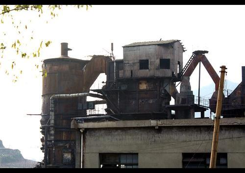 兴化厂房拆除图