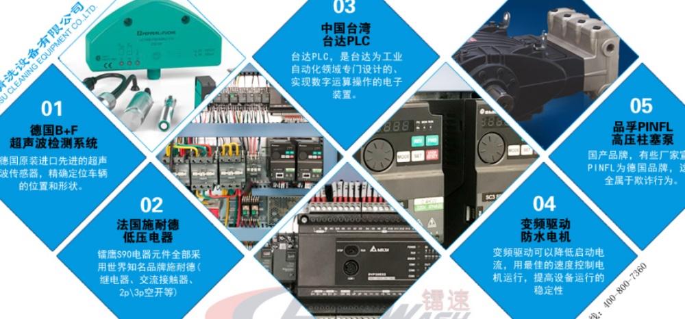 加油站电脑洗车机、杭州镭速洗车机(在线咨询)、周口电脑洗车机