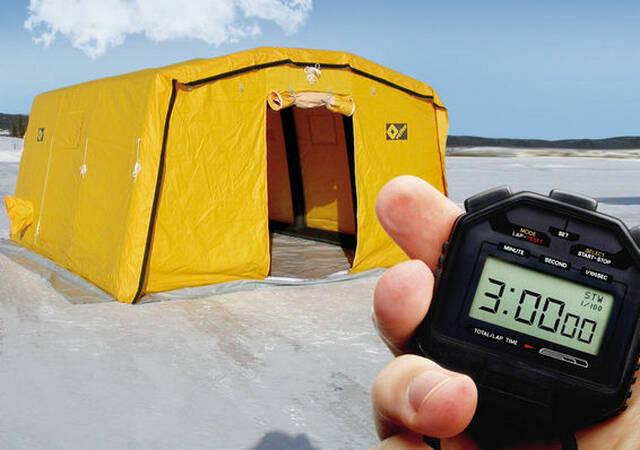 洗消帐篷 PZ17/PZ20/PZ20+ VETTER