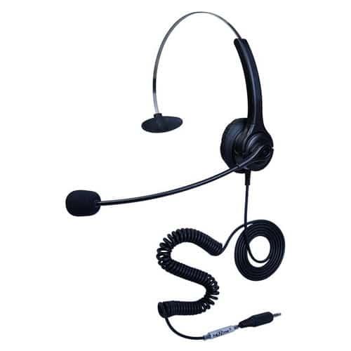 hoRme合镁400S头戴式3.5单插头耳机客服话务耳机