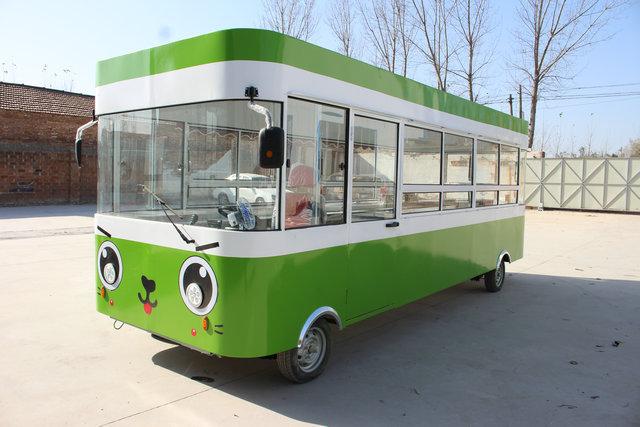 电动餐车移动小吃车流动美食车