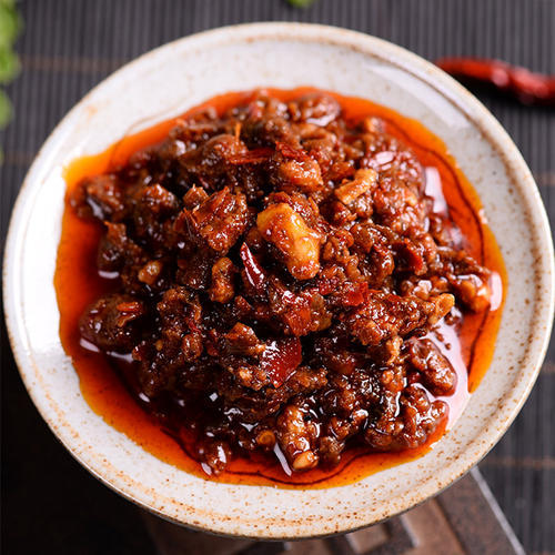 微辣鲜嫩香菇酱、秦川大厨(在线咨询)、兴文香菇酱