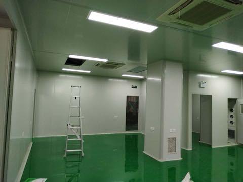建造滨州电子车间净化工程设计施工