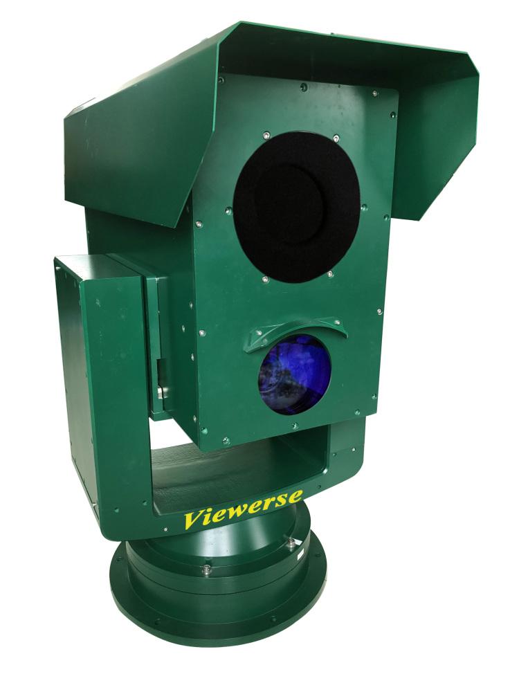 夜通航海岛远程监控系统 600万高清透雾摄像机 红外热像仪