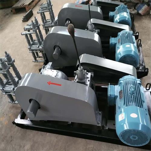 活塞式SYB80型双液注浆机作业流程