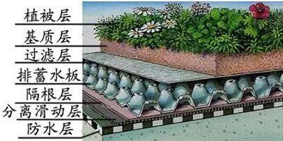 疏水板凹凸型排水板、抚州疏水板、疏水板屋顶绿化种植