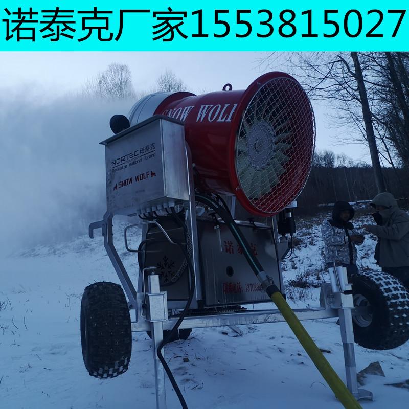 五千平滑雪场造雪机购置台数  大型造雪机厂家出租出售
