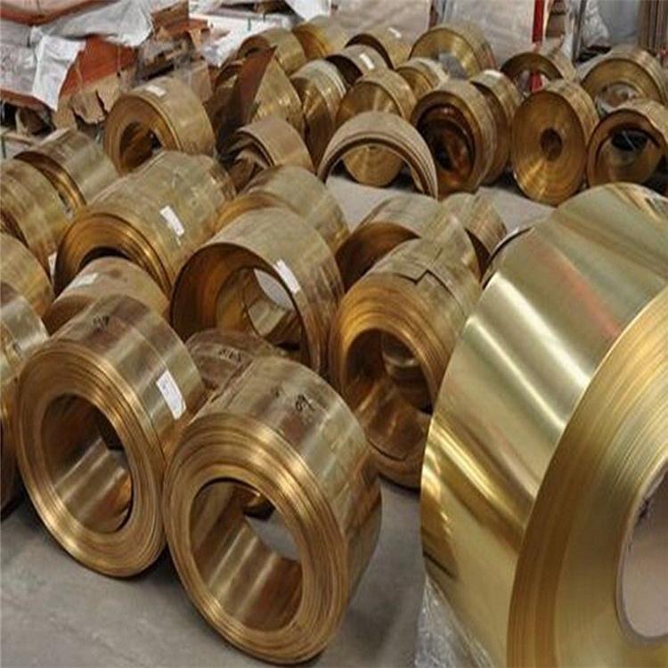 乾福供应HNi65-5镍黄铜HNi65-5板管带规格齐全