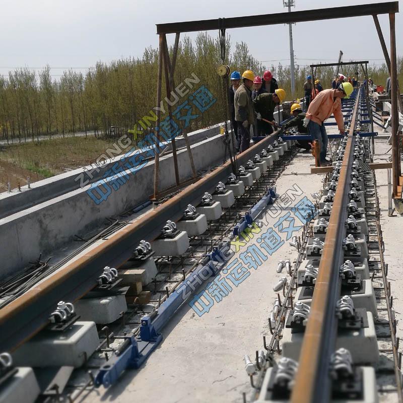 济南整体道床施工钢轨支撑架