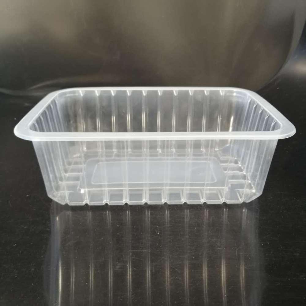 厂家供应一次性pp塑料盒 扒鸡锁鲜盒 烧鸡盒子 猪头肉封口包装盒