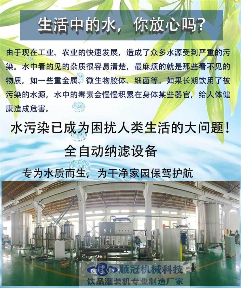 水處理全套設備 礦泉水設備 純凈水生產線 反滲透設備