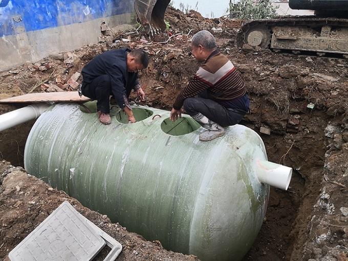 小区玻璃钢化粪池、珑净环保(在线咨询)、隆回玻璃钢化粪池
