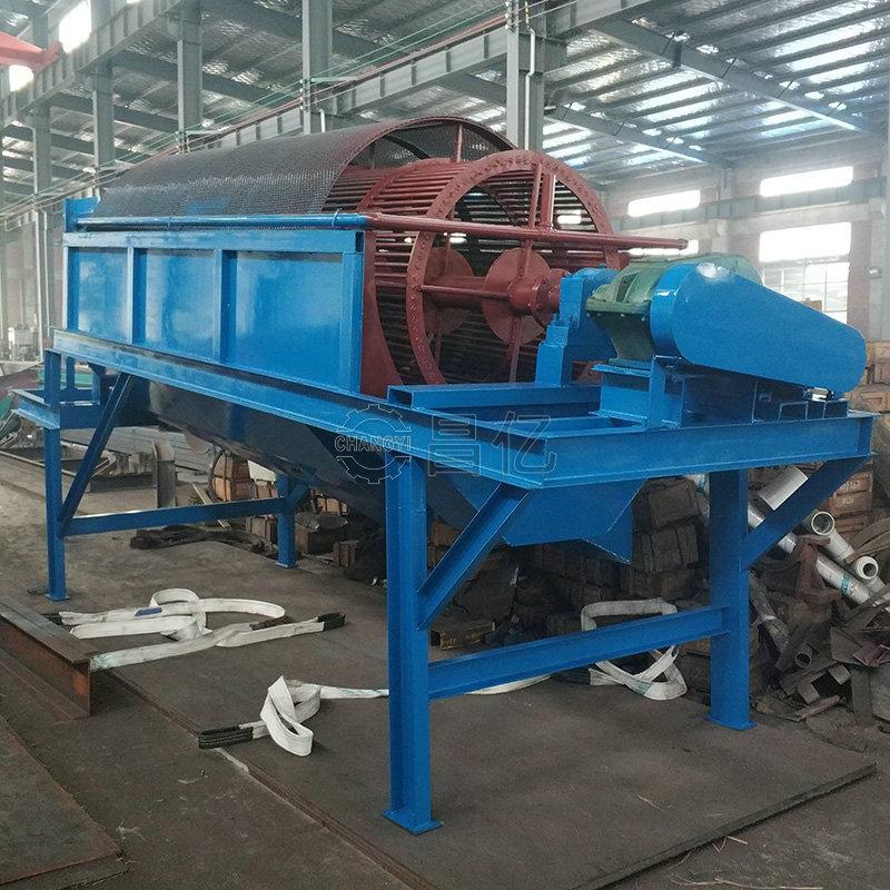 选矿设备(图)、大型滚筒筛沙机厂家、筛沙机