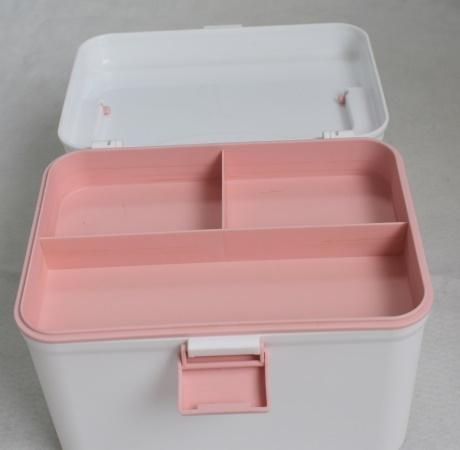 家庭小药箱急救药箱家用婴儿药箱必备药品分类收纳塑料箱