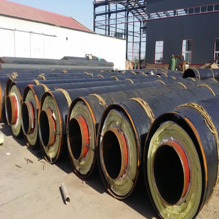 热力供暖钢套钢保温钢管技术成熟