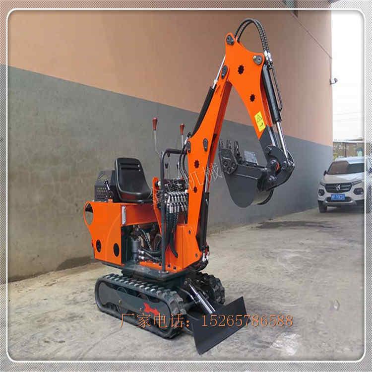 挖掘机厂家 林场履带式挖坑机 管道沟渠柴油挖土机