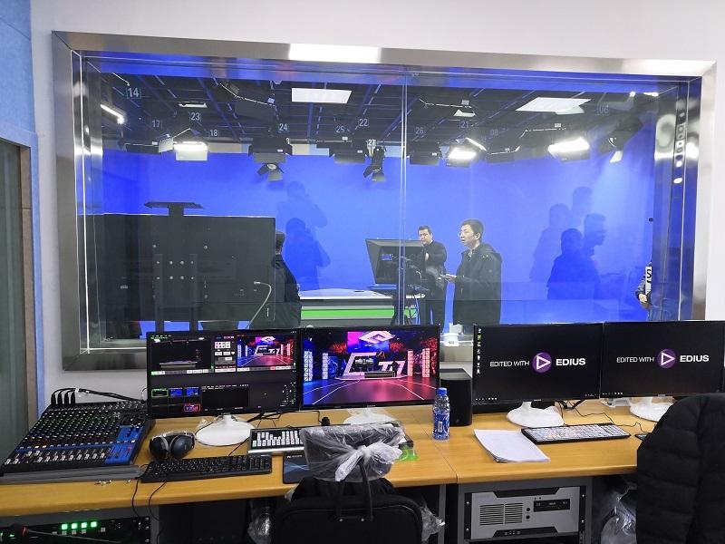 天创华视虚拟演播室虚拟抠像设备 演播室整体装修搭建