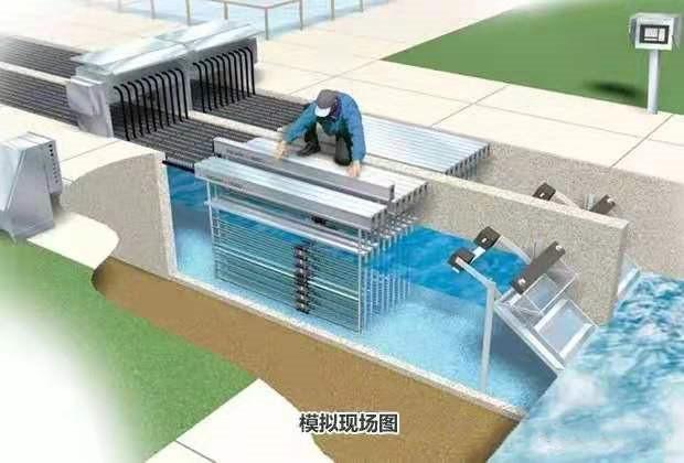 上海国润明渠紫外线消毒杀菌器